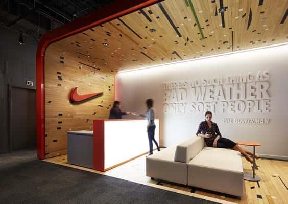 Receptie Nike