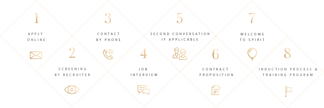 Infographic Werkwijze sollicitatie